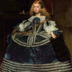 Portrait de l'infant Marquerite - Velazquez