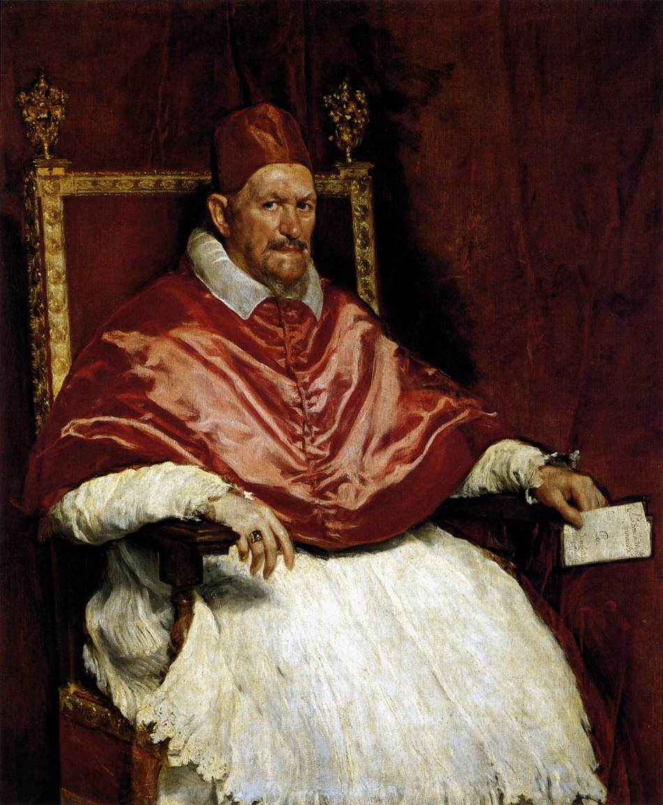 Portrait du pape Innocent X - Velazquez