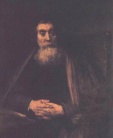 Portrait d'un vieillard - Rembrandt
