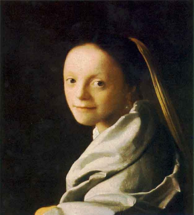 Portrait d'une jeune femme - Vermeer