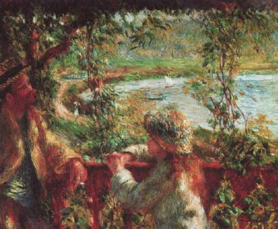 Près du lac - Renoir
