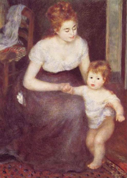 Premiers pas - Renoir
