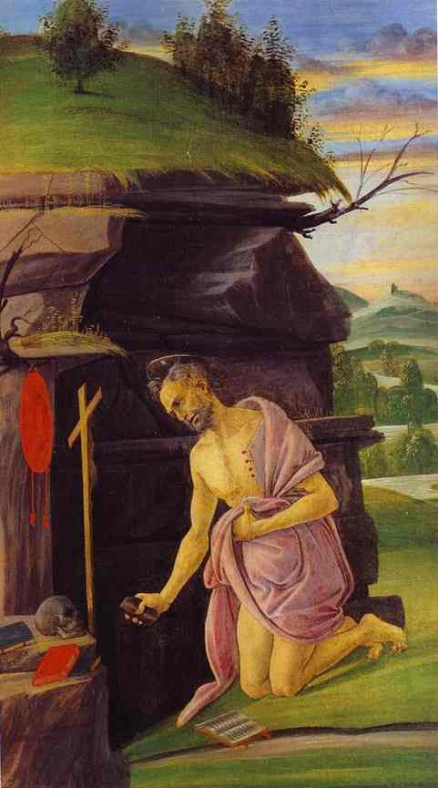 Saint Jérôme - Botticelli