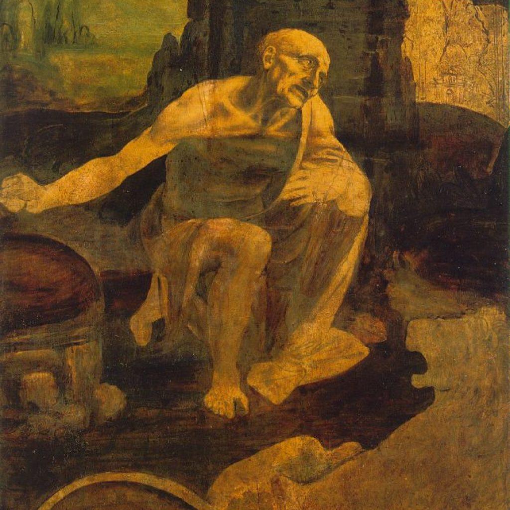 Saint Jérome - De Vinci