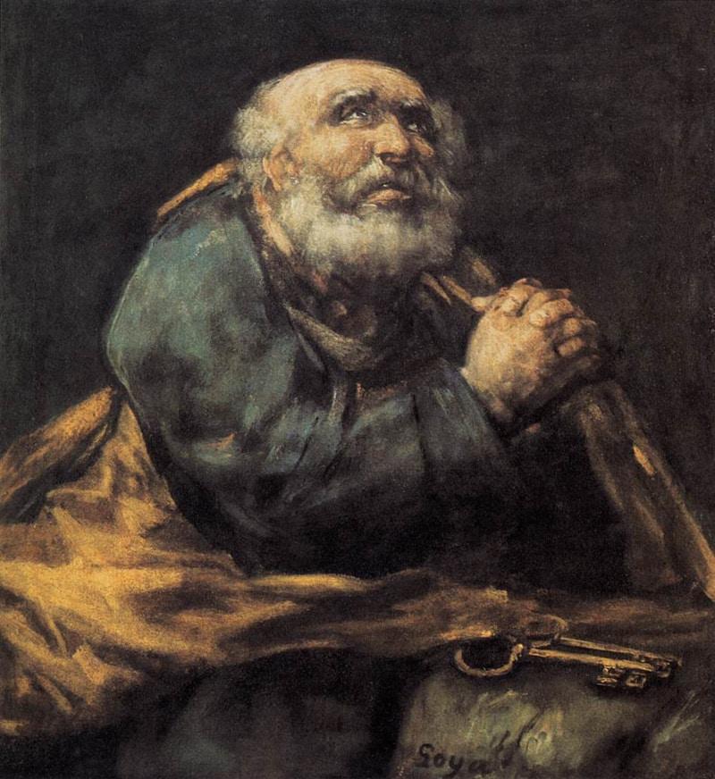 Saint Pierre - Goya