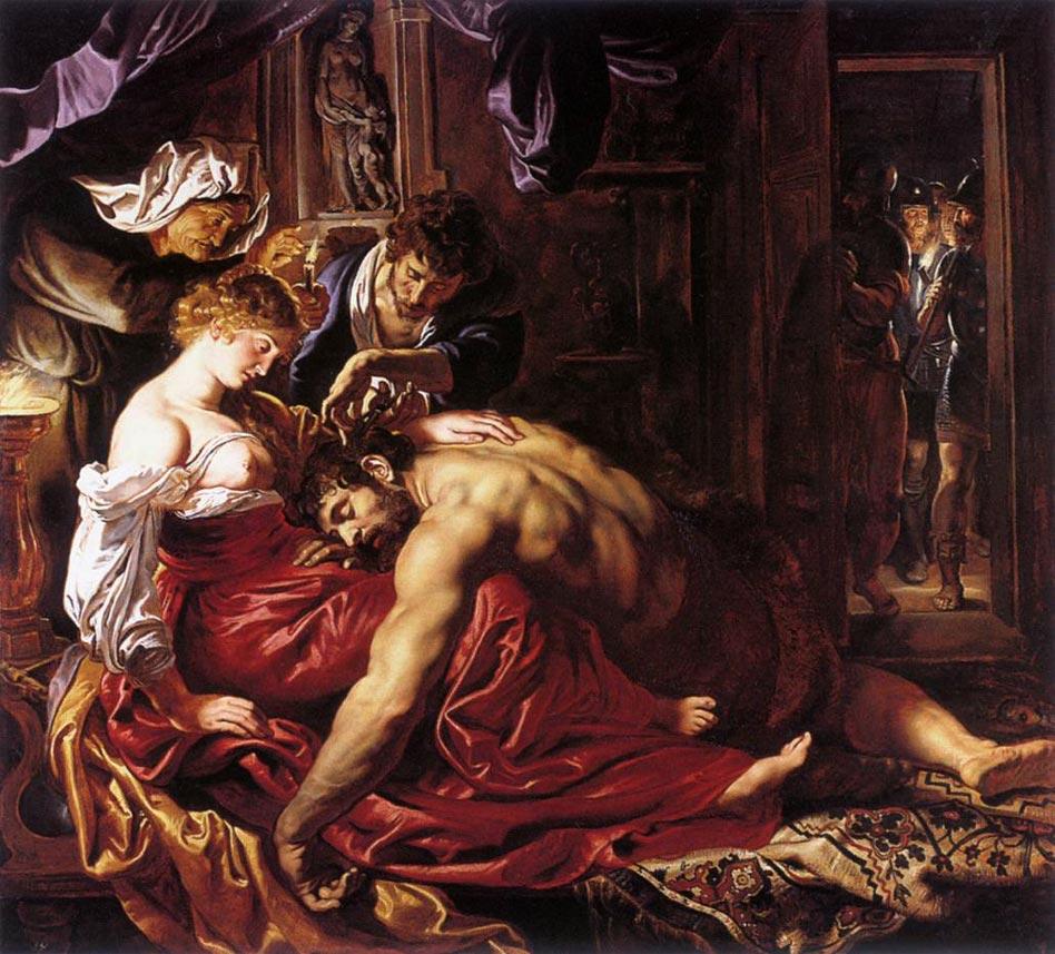 Samson et Delilah - Rubens