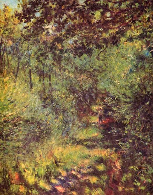 Sentier dans les bois - Renoir