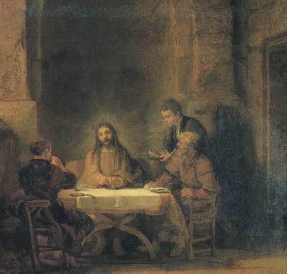 Souper d'Emmaus - Rembrandt