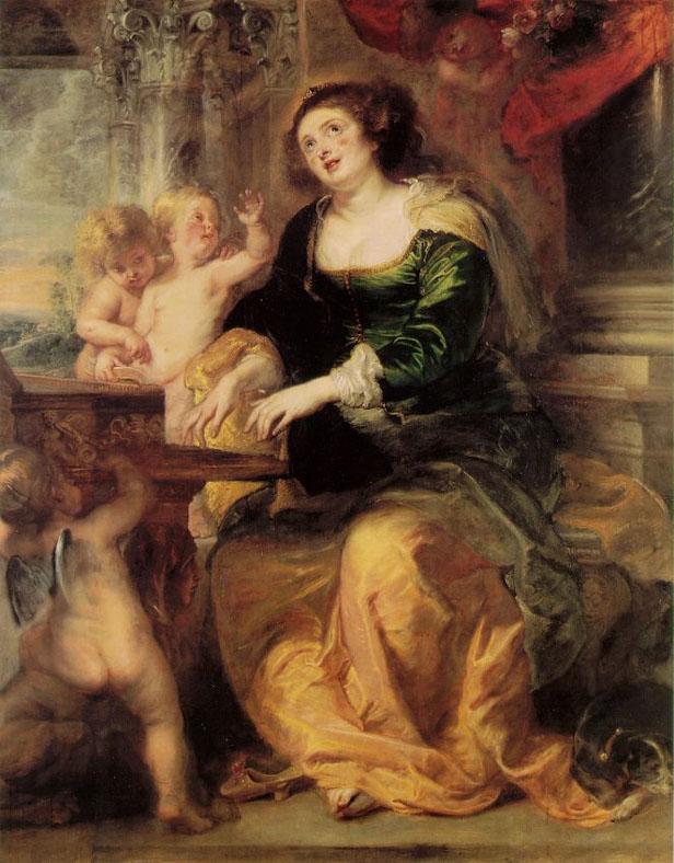 St. Cecilia - Rubens