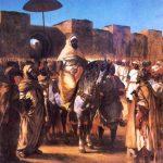 Sultan du maroc et sa suite - Delacroix