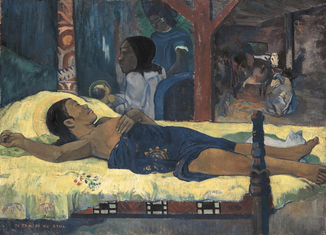 Te Tamari No Atua - Gauguin