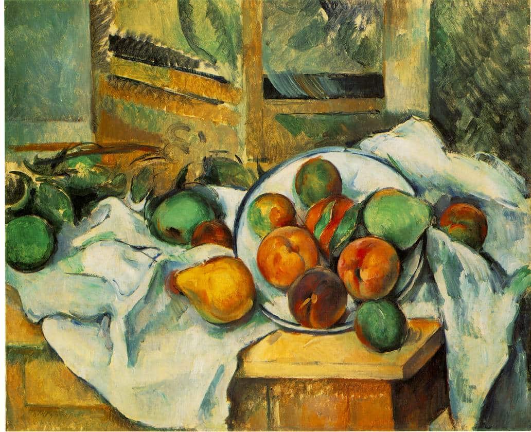 Un coin de table - Cézanne