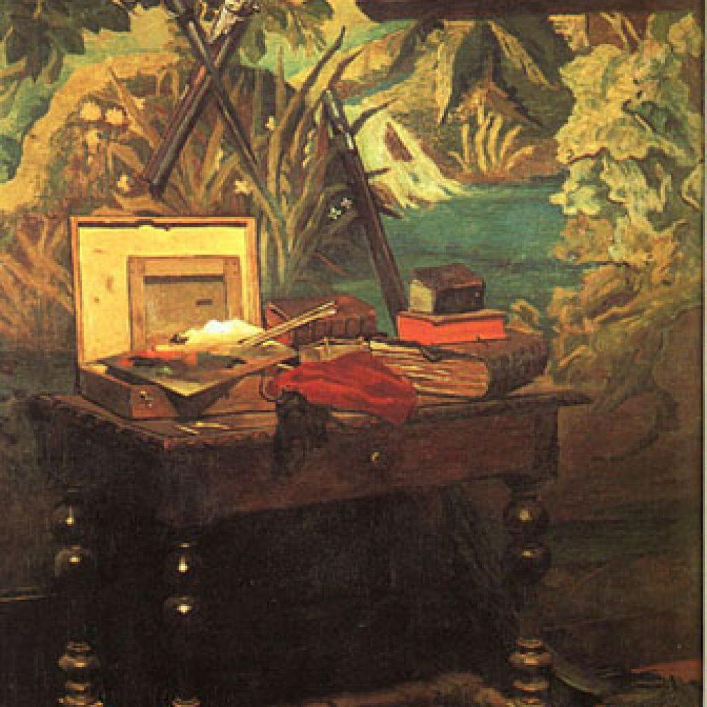 Un coin du studio - Monet