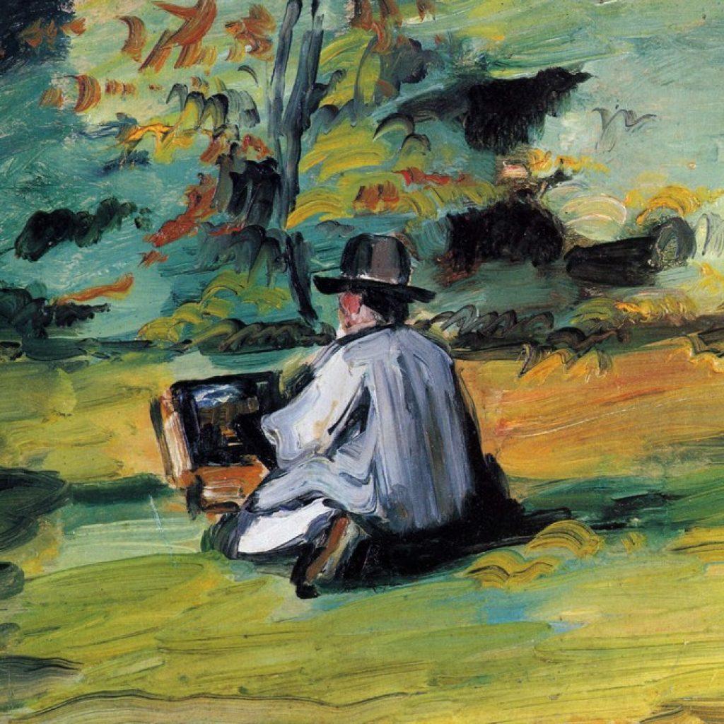 Un peintre au travail - Cézanne