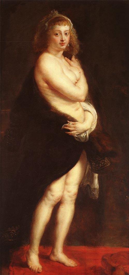 Venus en manteau de fourrure - Rubens
