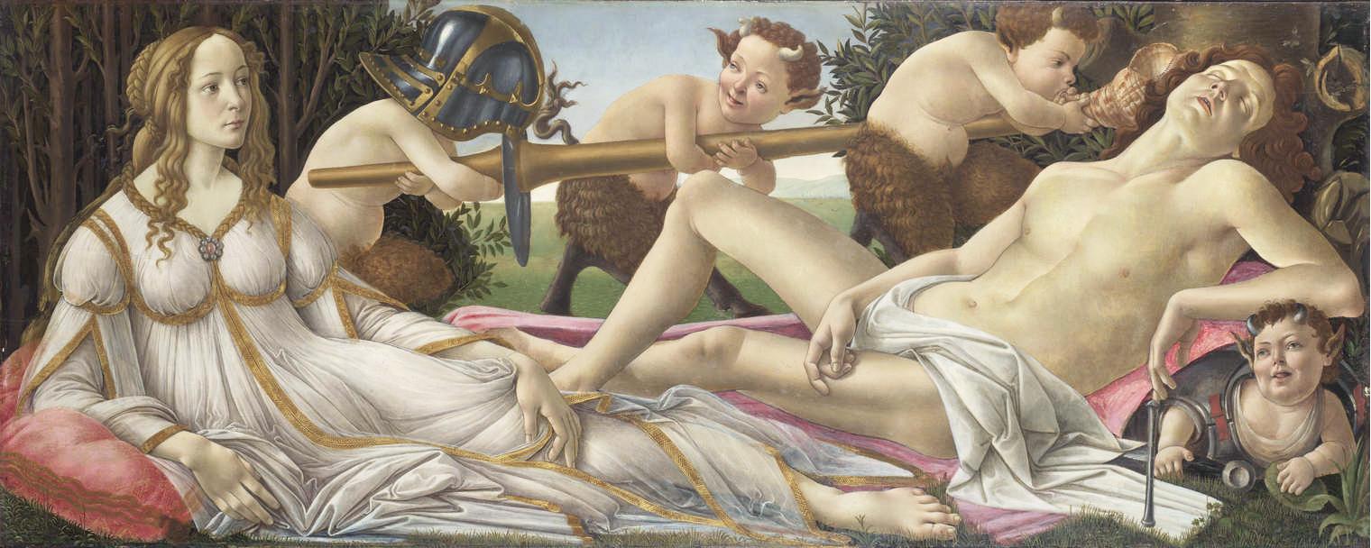 Venus et Mars - Botticelli