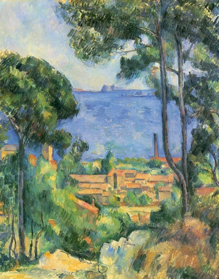 Vue de l'Estaque et du château d'If - Cézanne