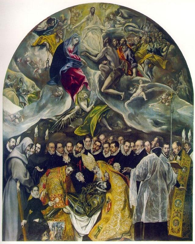 L'enterrement du Comte Orgasz - El Greco