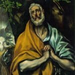 Les larmes de St Pierre - El Greco