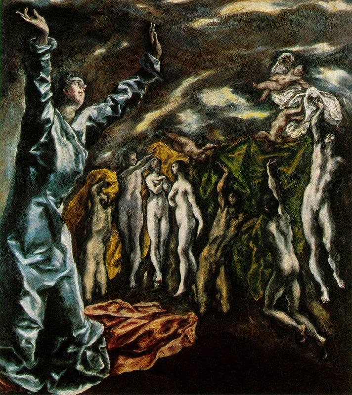 L'ouverture du cinquième sceau de l'Apocalypse - El Greco