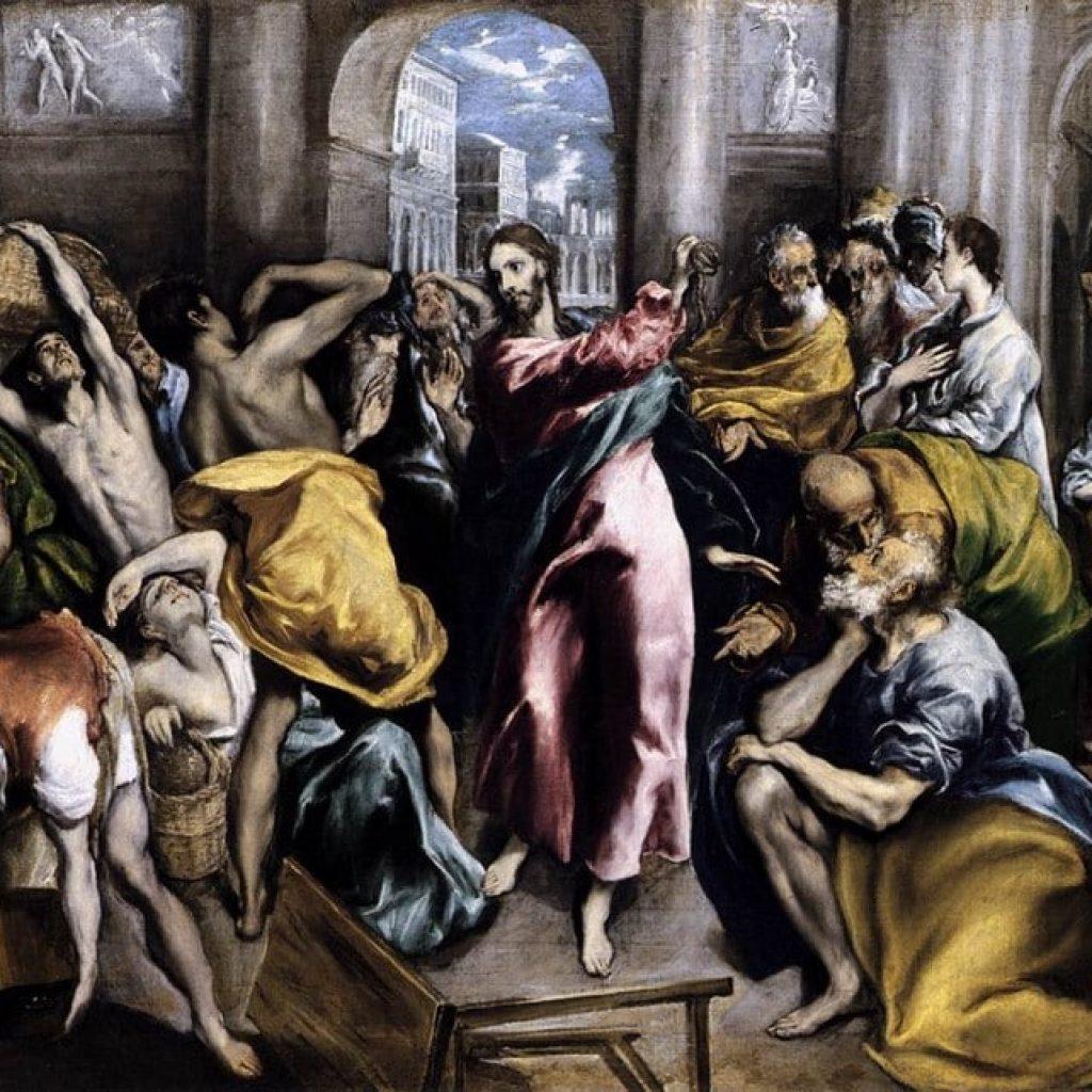 La purification du temple - El Greco