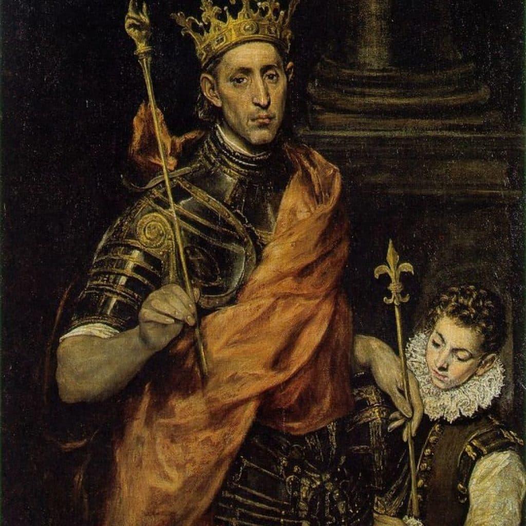 Saint Louis roi de France - El Greco