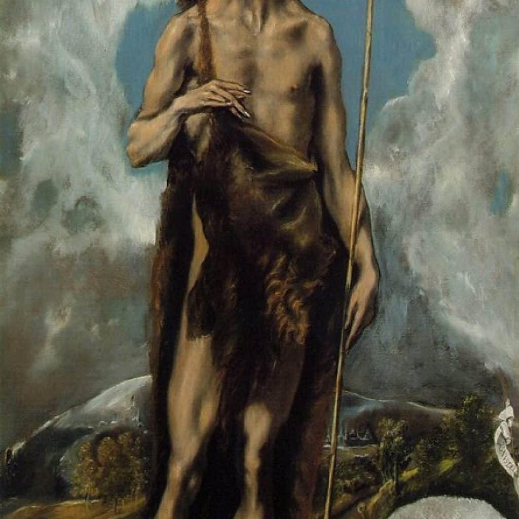 St Jean Baptiste - El Greco