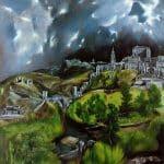Vue de Tolède - El Greco